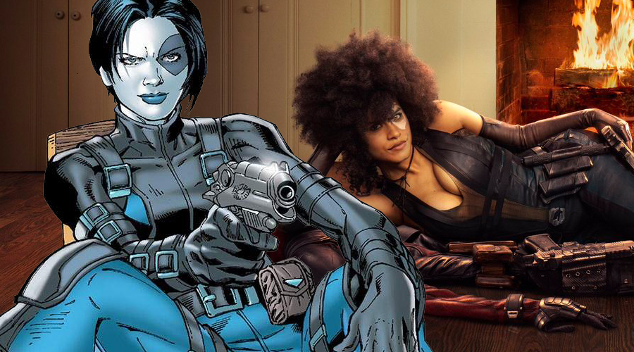 First look at Zazie Beetz as Domino in Deadpool 2 officially released!
