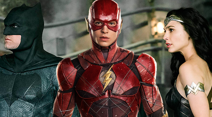 "Ezra Miller compares Flash with ""altruistic nerd"" as new Justice League photo arrives!"