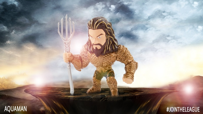 Aquaman diecast figure