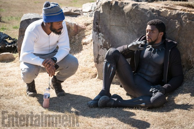 Black Panther director and lead actor