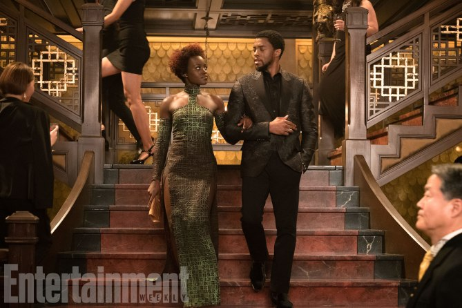 Nakia and T'Challa