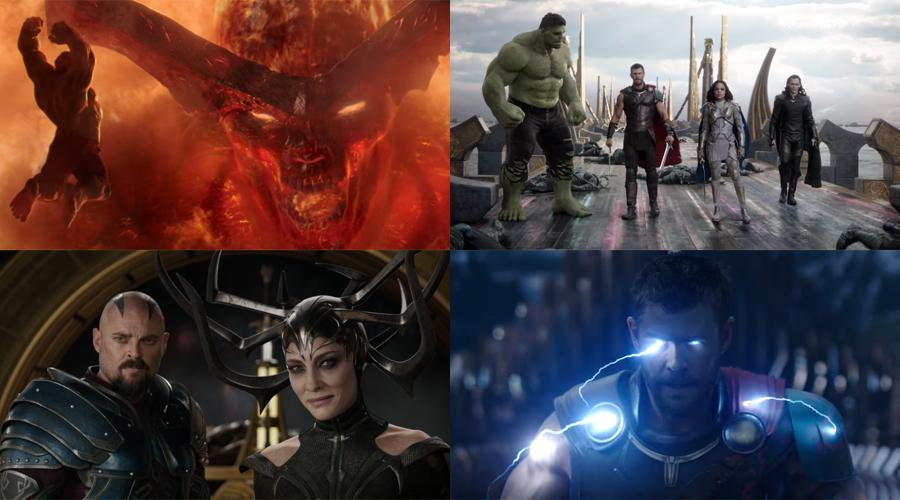 New Thor: Ragnarok trailer has arrived!