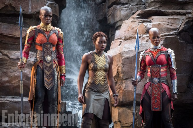 Okoye, Nakia and Ayo