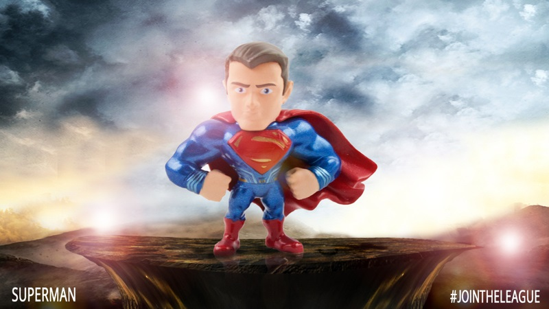 Superman diecast figure