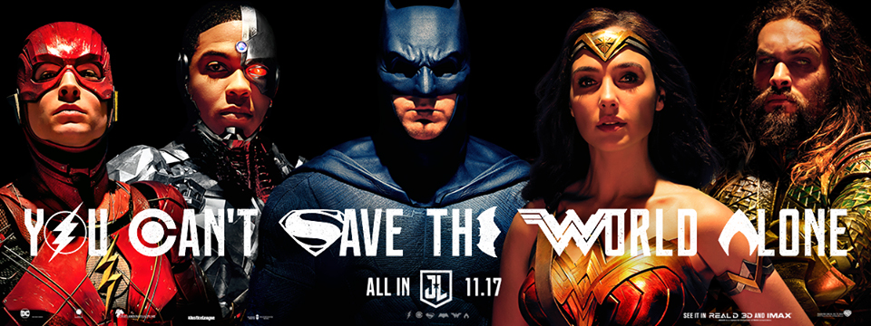 The new banner for Justice League