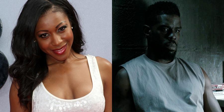 Gabrielle Dennis and Mustafa Shakir - Tilda Johnson and John McIver of Luke Cage Season 2