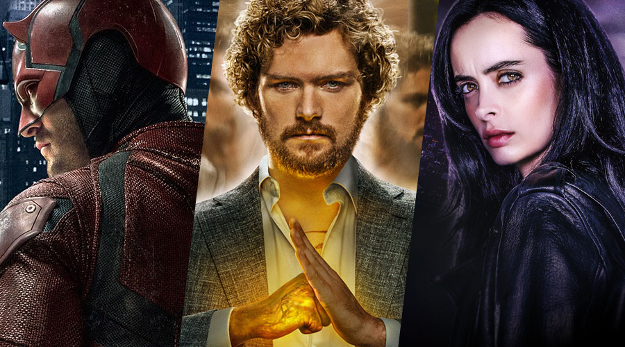 New report concerning Daredevil Season 3 and Iron Fist Season 2 episode count arrives as Jessica Jones Season 2 adds a series regular!