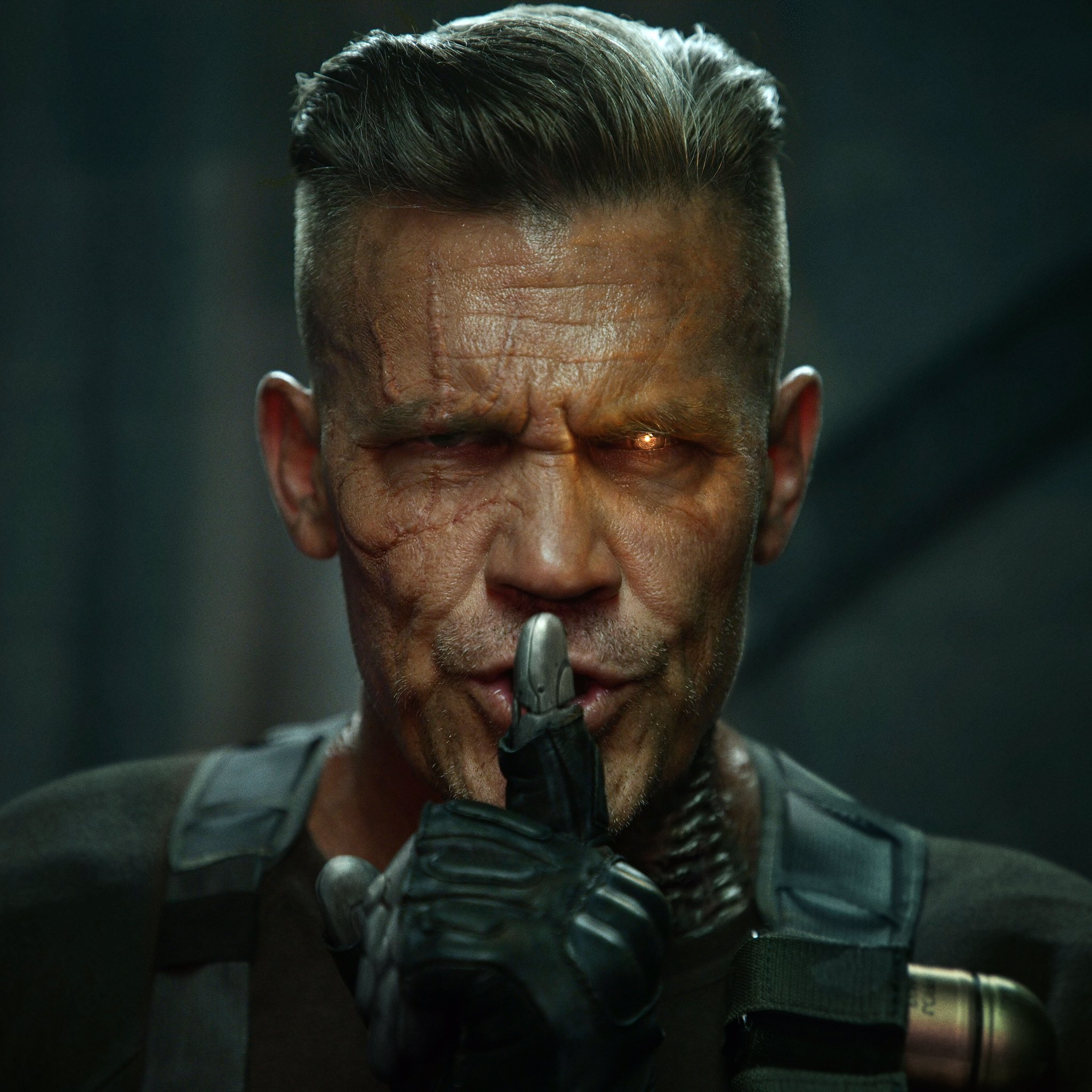 First look at Josh Brolin as Cable from Deadpool 2