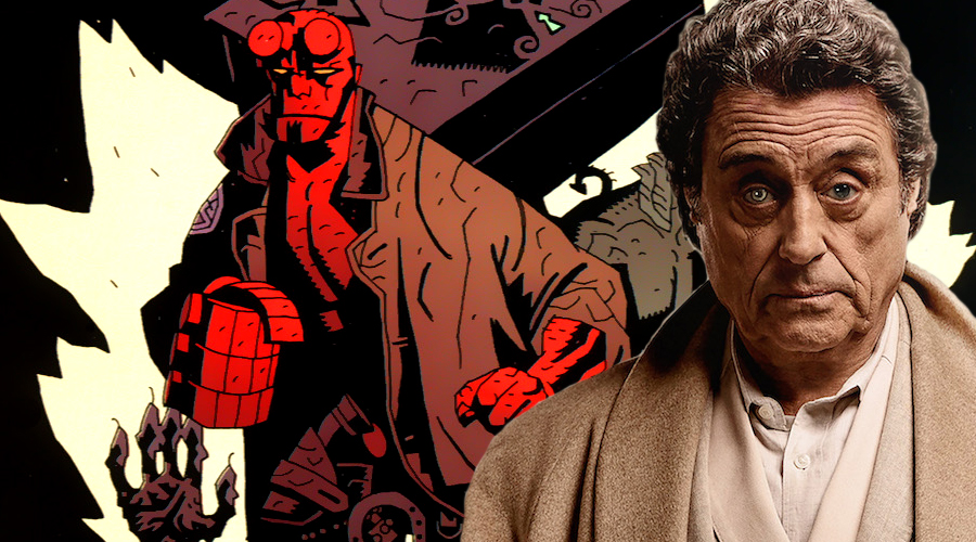 Hellboy: Rise of the Blood Queen adds Ian McShane in a key role!