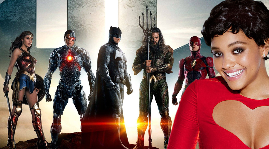 Kiersey Clemons talks about Justice League intro and Flashpoint production