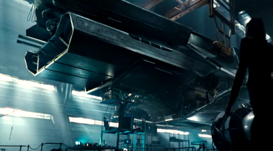 New Justice League concept art featuring Batman's Flying Fox released!