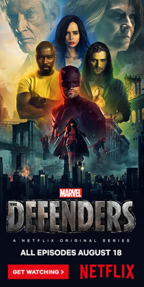The Defenders promotional poster