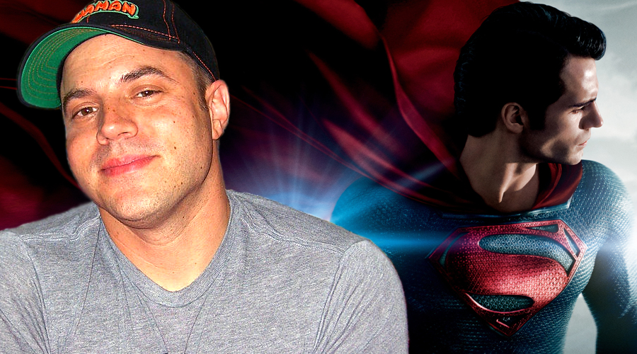 Geoff Johns had voiced concerns over Man of Steel's lack of lightness!