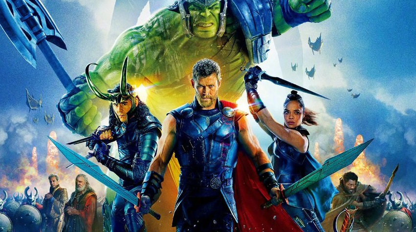 Chinese poster and trailer for Thor: Ragnarok arrive as a new still confirms Hogun!