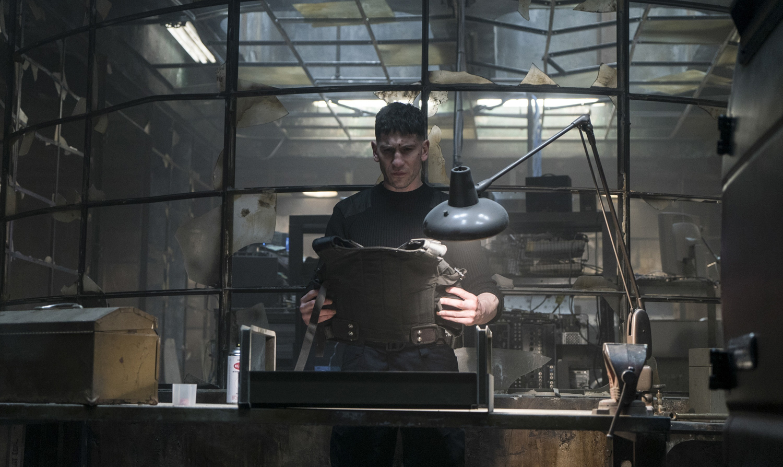 Jon Bernthal's Frank Castle, aka The Punisher