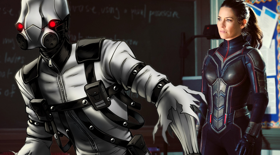 New Ant-Man 2 set video shows the Wasp battling the villainous Ghost!