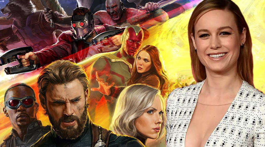 Brie Larson reportedly spotted on Avengers 4 set!