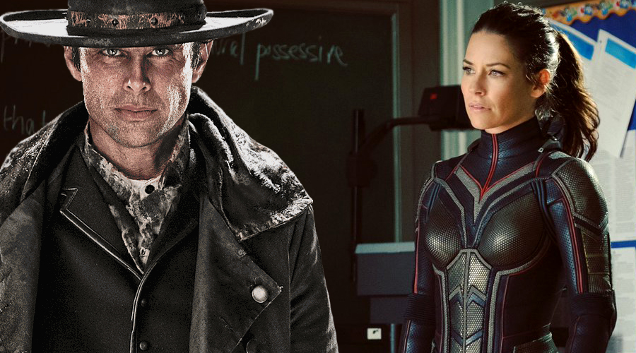Latest Ant-Man and the Wasp set photos feature Evangeline Lilly in her full Wasp costume and Walton Goggins as Sonny Burch!