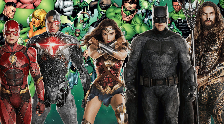 Justice League reportedly features two members of Green Lantern Corps and two post-credits scenes!