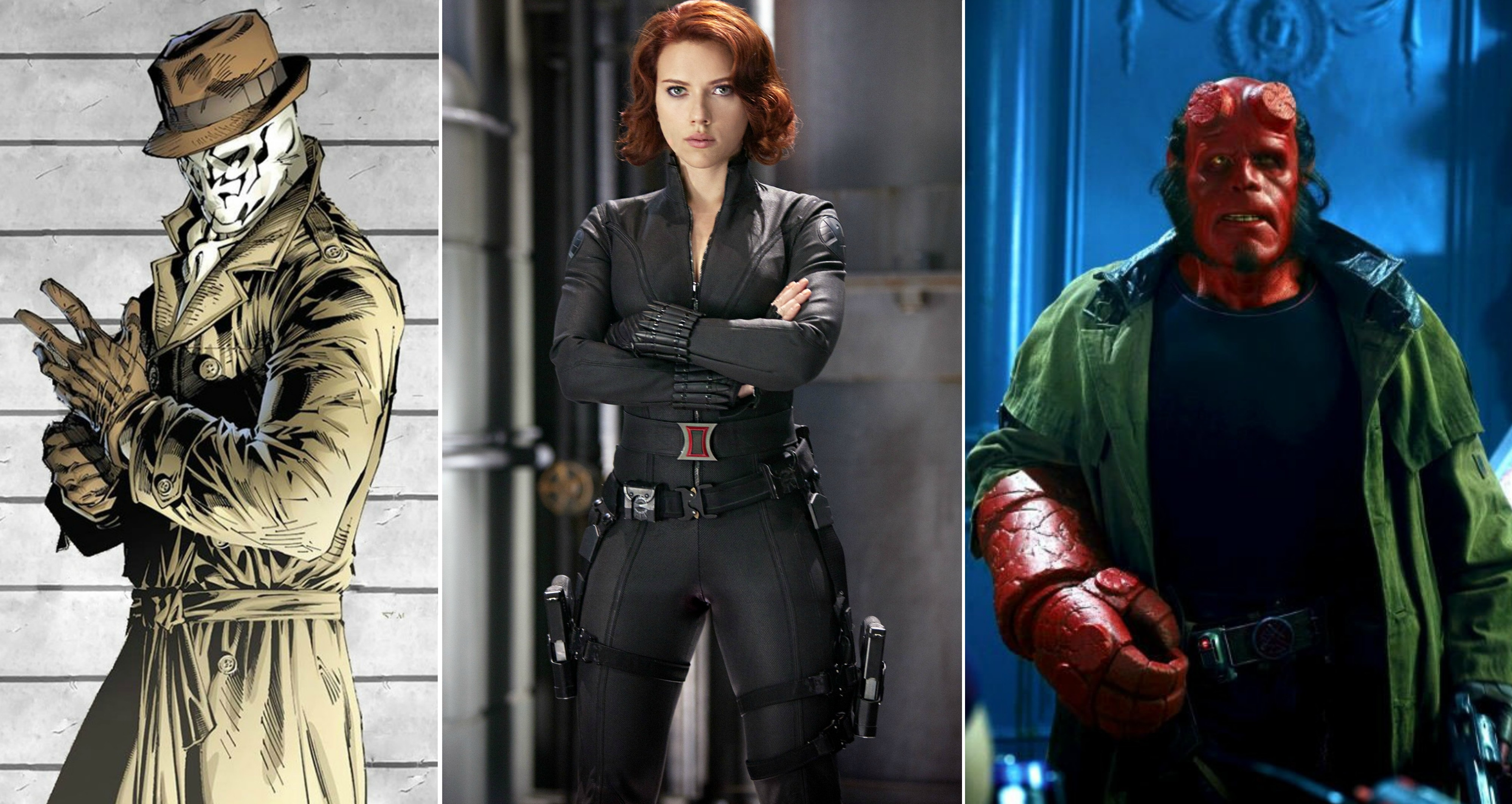 best character costumes of the best comic book movie costumes - daily superheroes