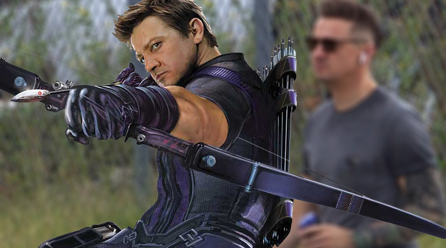 Hawkeye is totally unrecognizable in the new Avengers 4 set photos!