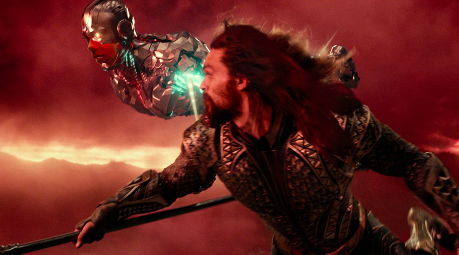 Cyborg and Aquaman's struggles are much greater than that of The Flash in Justice League