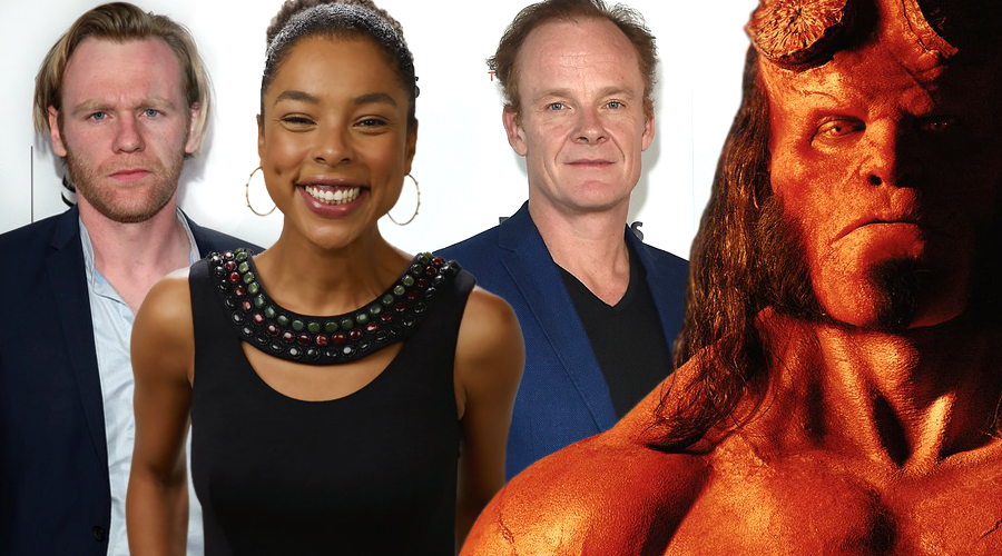 Hellboy reboot has added three more cast members!