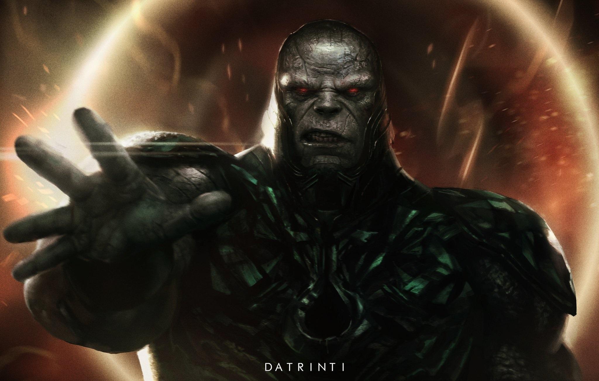 Fan-art featuring Darkseid by @datrini