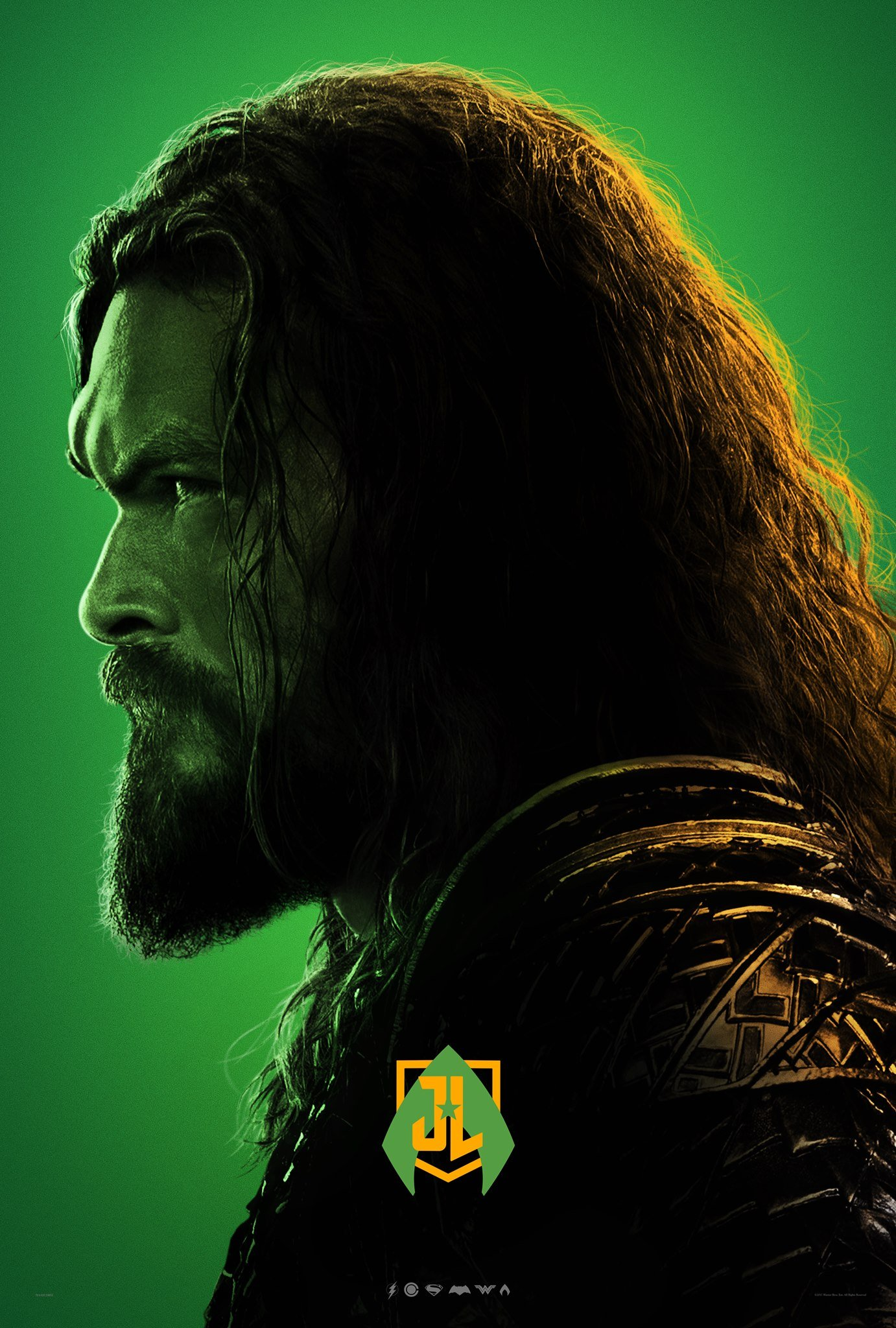 Justice League poster for Aquaman
