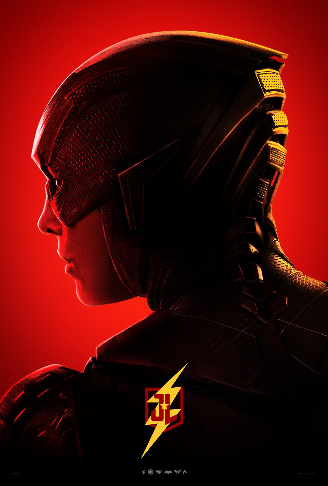 Justice League poster for The Flash