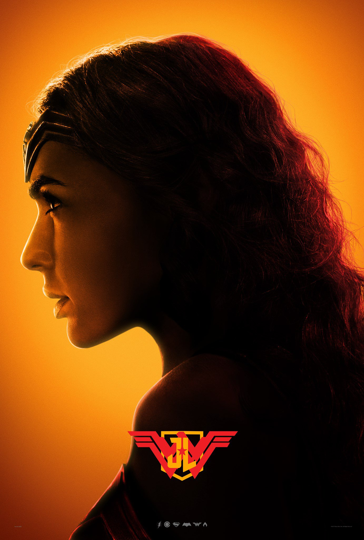 Justice League poster for Wonder Woman