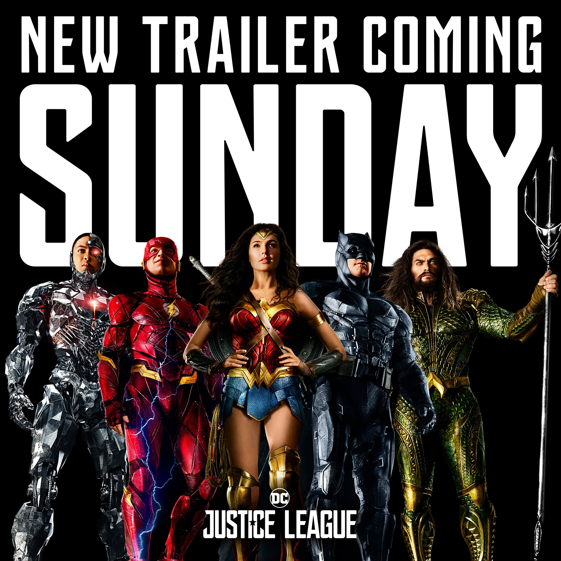 The latest Justice League poster