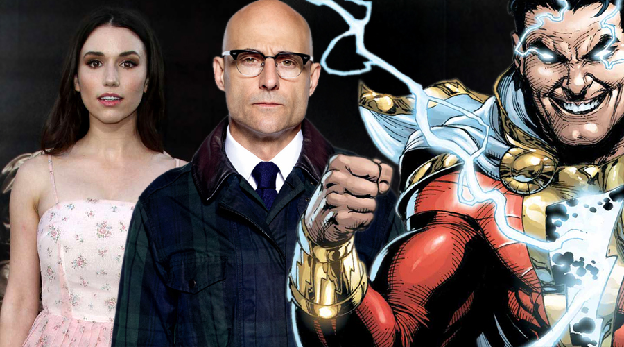 Mark Strong and Grace Fulton are in talks to join Shazam!