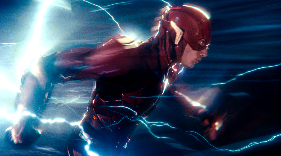 Ezra Miller talks about a deleted Justice League scene and the Speed Force!