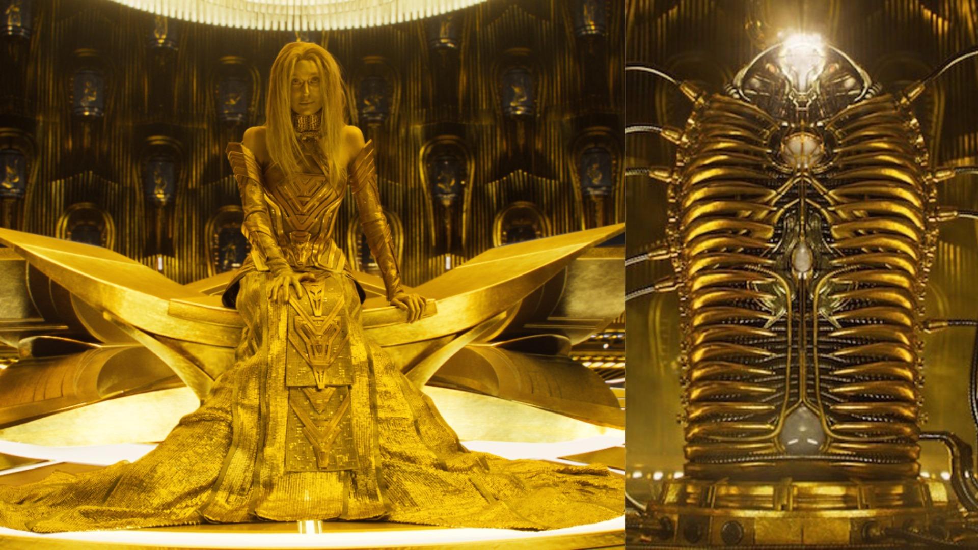 Adam Warlock, Ayesha, The Golden Cocoon