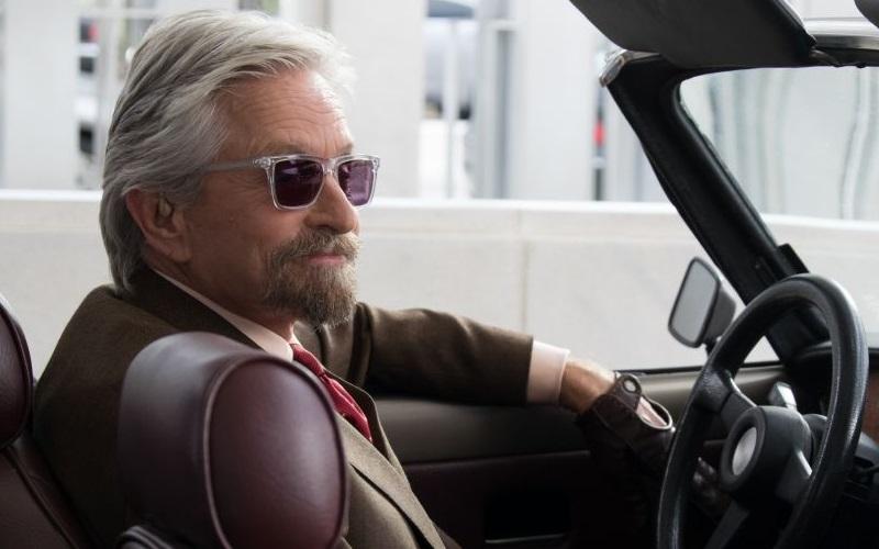 Michael Douglas as Hank Pym in Ant-Man