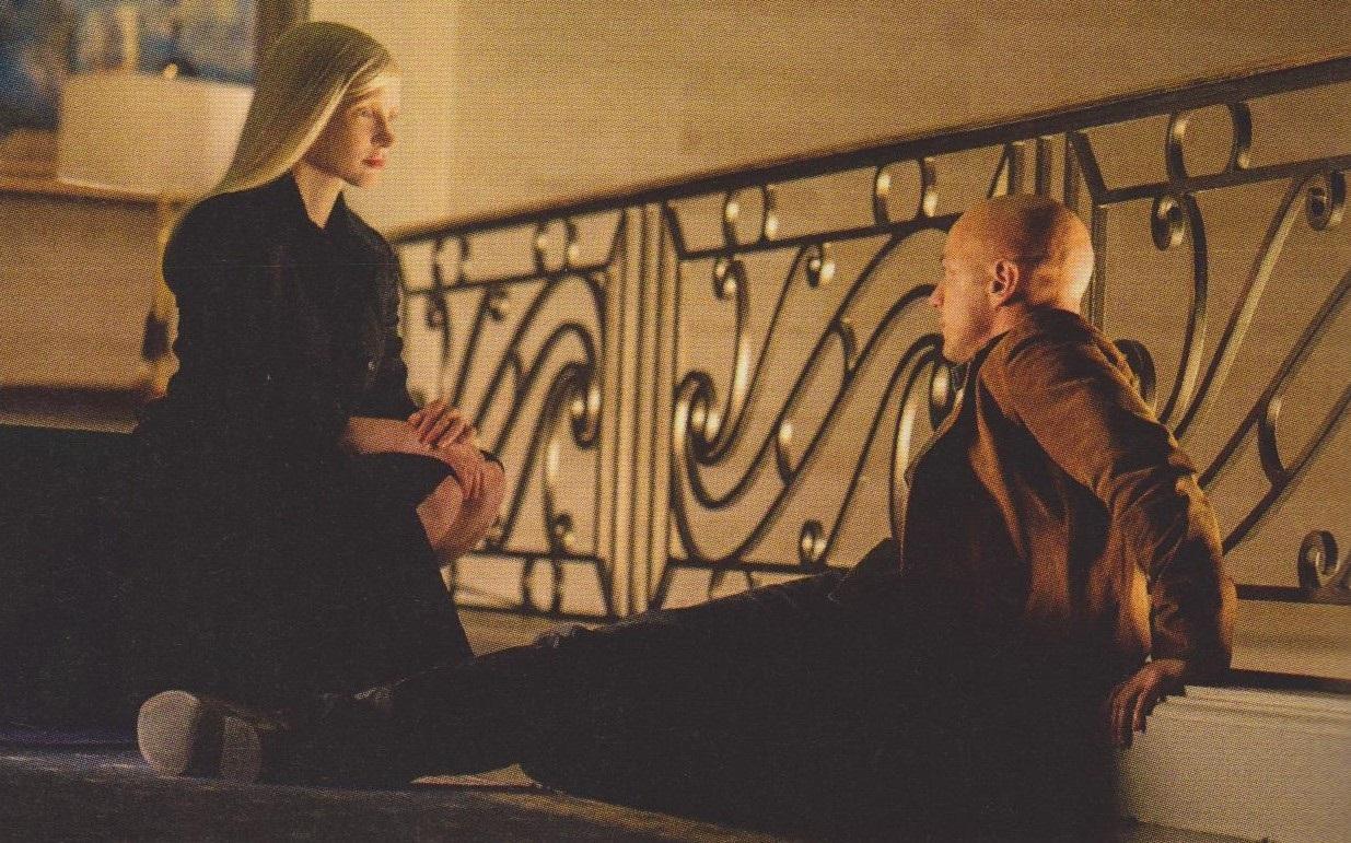 Jessica Chastain's supervillain and Professor X in X-Men: Dark Phoenix