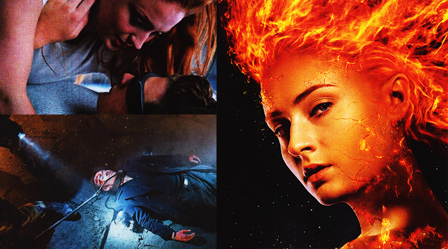 The newest batch of X-Men: Dark Phoenix photos teases love and peril!