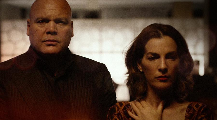 Wilson Fisk and Vanessa Marianna in Daredevil