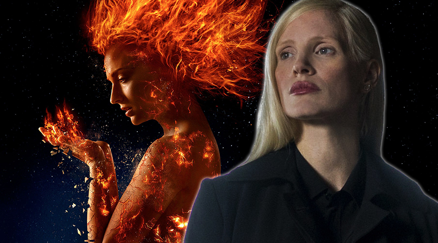 The alias of Jessica Chastain's alien shapeshifter in X-Men: Dark Phoenix has been revealed!