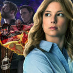 Emily VanCamp says that it's hard to fit Sharon Carter into Avengers: Infinity War!