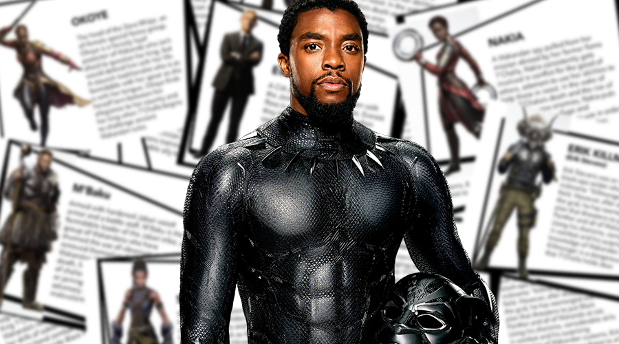 New bios for seven key characters from Black Panther have surfaced on web!
