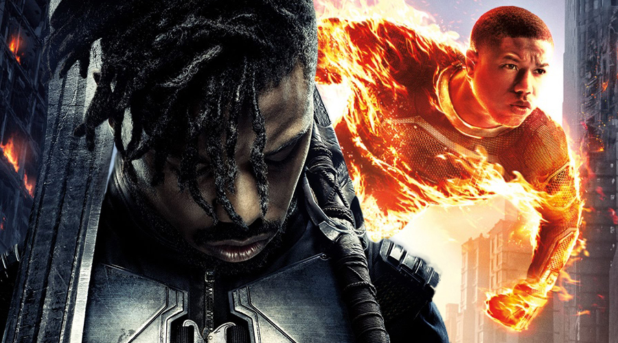 Michael B. Jordan talks about not hestitating to do Black Panther after Fantastic Four and Erik Killmonger's motivations!