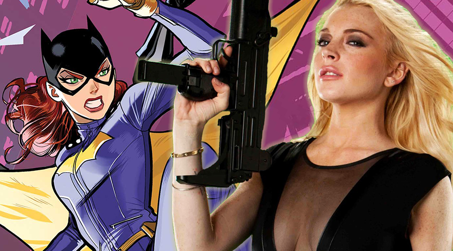 Lindsay Lohan has her eyes on the Batgirl role!