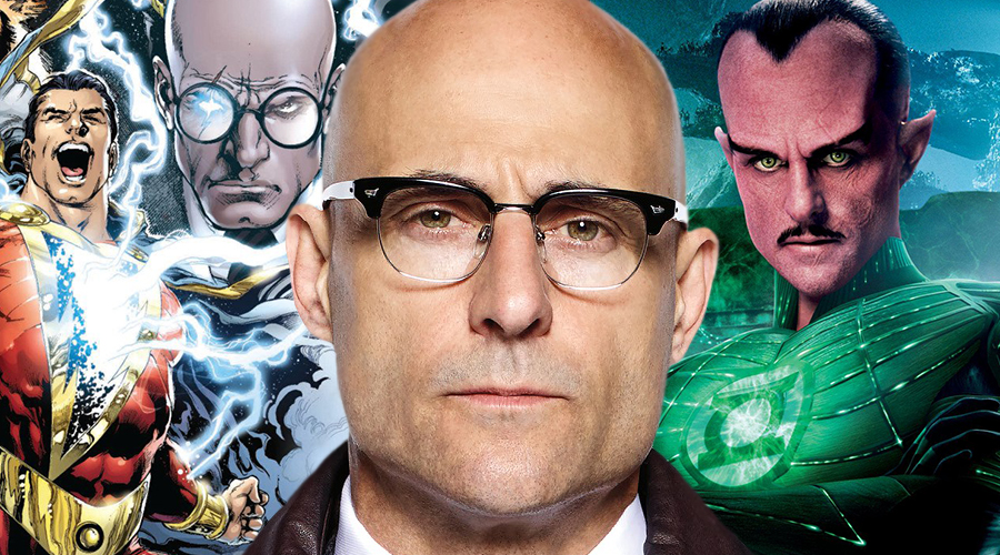 Mark Strong confirms landing the role of Doctor Sivana in Shazam! and shares his regrets concerning Green Lantern!