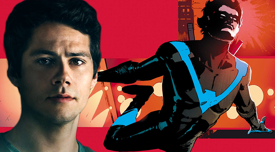 Dylan O'Brien has got his Maze Runner co-star's vote for the role of Nightwing!
