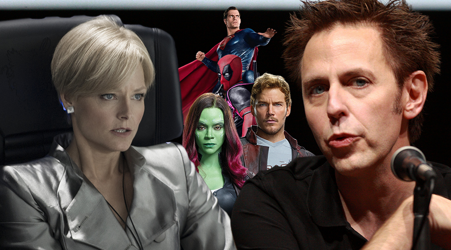 James Gunn responds to Jodie Foster's controversial remarks on superhero blockbusters!