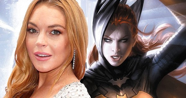 Lindsay Lohan and Batgirl side by side, but should they be one and the same?