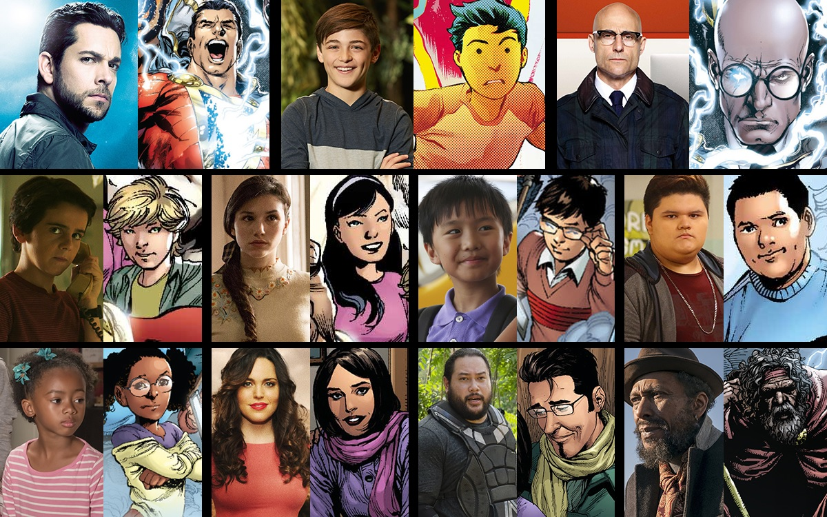 The full Shazam! cast list