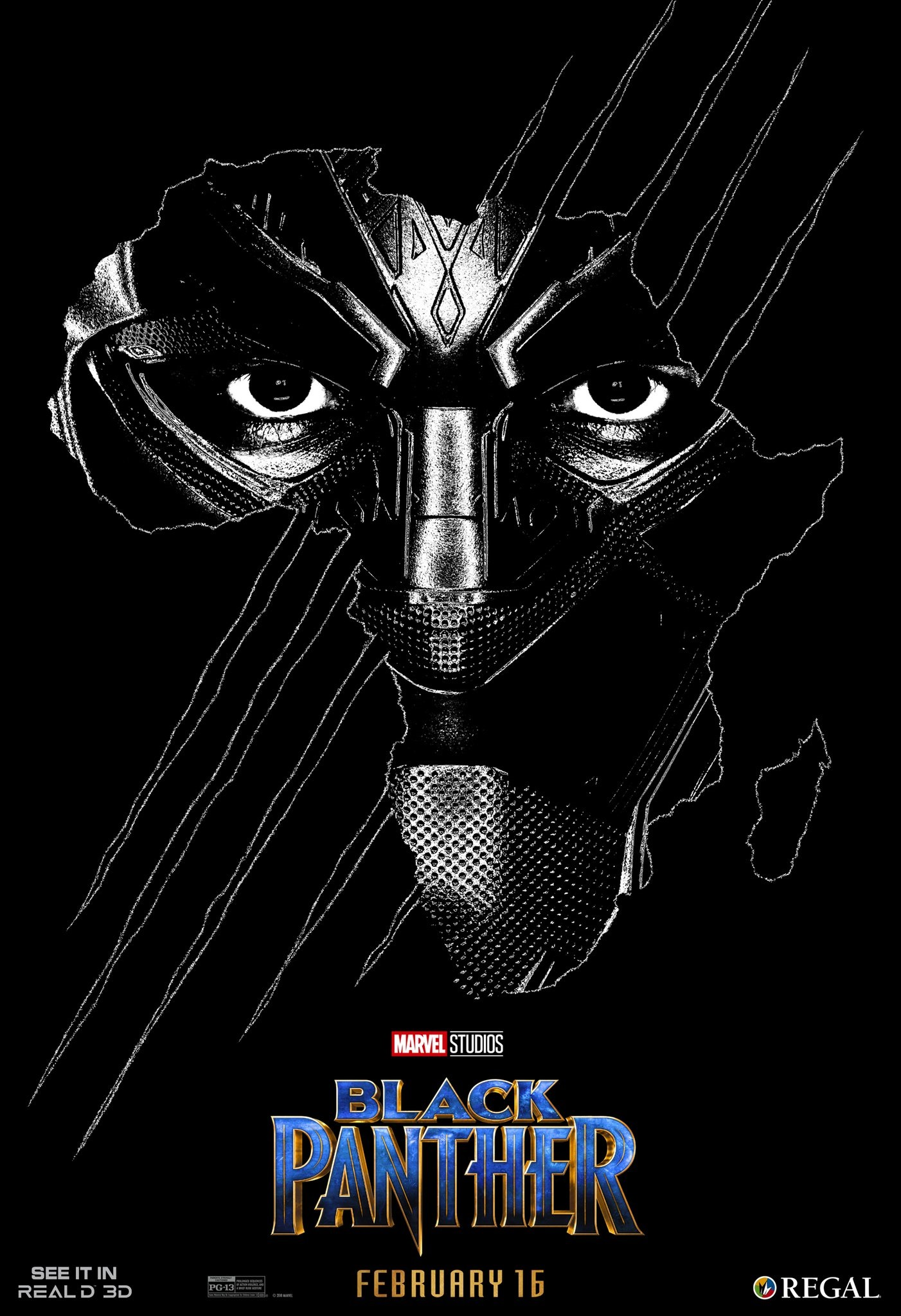 Black Panther's RealD poster